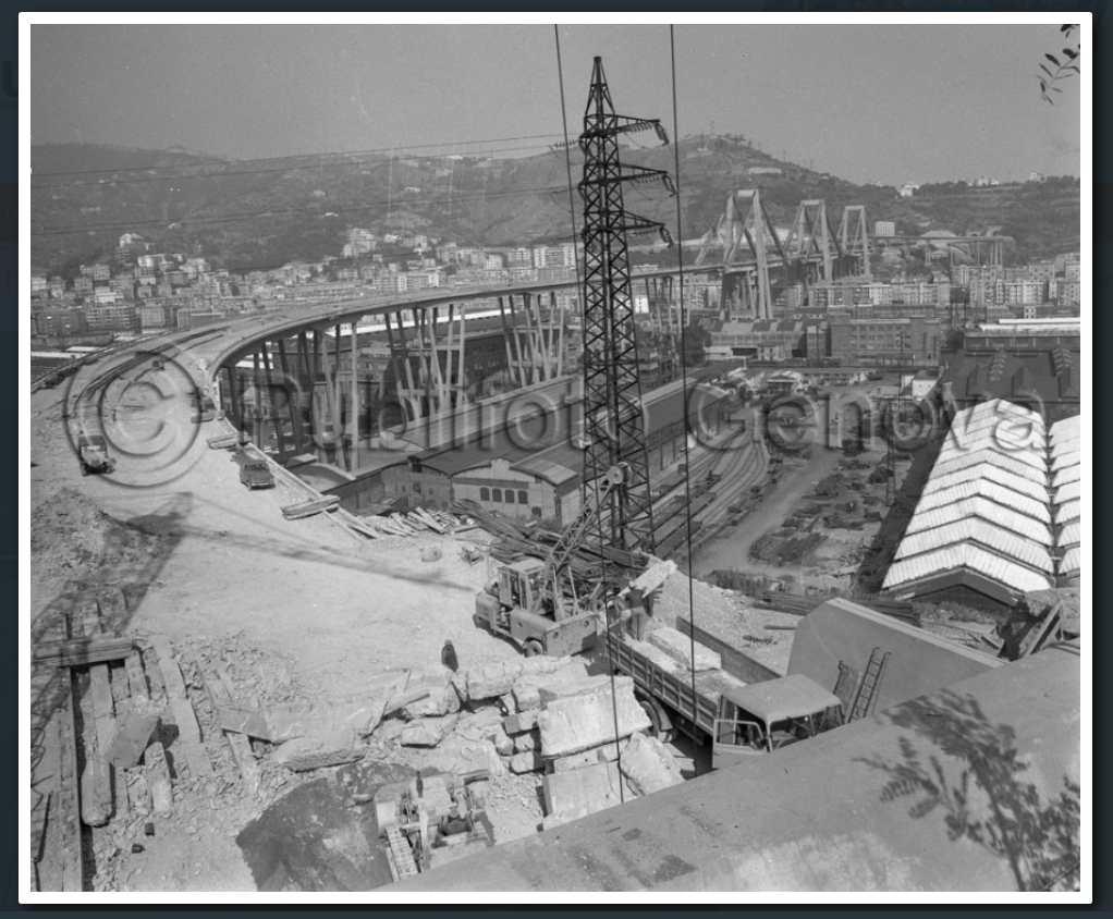18 luglio 1967, la struttura è ultimata